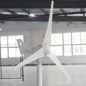 200W 24V horizontaler Wind-Generator für weg von Rasterfeld-oder Rasterfeld-Gleichheit-System mit freie Ladung-Controller