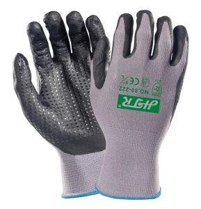 ニトリルのコーティングが付いているAnti-Abrasionオイル証拠の安全作業手袋