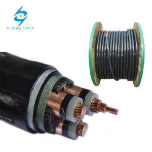 Kabel van de Macht van het Voltage van de Kabel XLPE/Sta/PE van Na2xsfy 3*150mm2 de Elektro Middelgrote