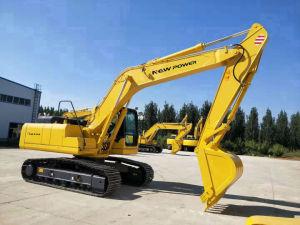 China Escavadeira de tamanho médio 21 toneladas máquina de escavação Bom Preço