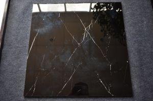 De goedkope Tegel Nero Margiua van de Vloer van de Steen Zwarte Ceramische verglaasde Ceramiektegel