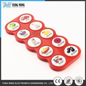 Het aangepaste Plastic Elektronische Stuk speelgoed van de Baby van de Intelligentie Correcte Muzikale