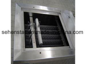 肉処理のための産業落下フィルムの枕版の熱交換器