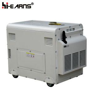 5000ワットの携帯用ディーゼル発電機(DG6500SE)