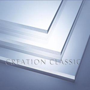 3.4mm Плоским Закаленное Стекло для Двери с ISO / CE / SGS Сертификат