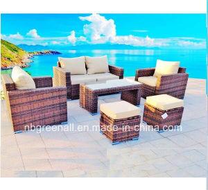 Ocio moderno caliente Rattan patio/jardín Casa Sofá mimbre muebles de exterior
