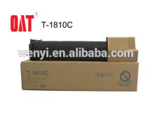 Schwarzer Kopierer-Toner T-1810c-5K für Gebrauch im Toshiba-Kopierer