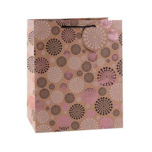 Цветочными орнаментами Kraft одежда мода магазин подарков бумажных мешков для пыли