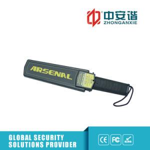 De hoge Detector van het Metaal van de Veiligheid Handbediende met Nietje die Gevoeligheid controleren