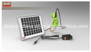 Linterna solar portátil ecológica PAL multifuncional de luz LED de carga solar recargable LUZ DE ACAMPADA (Bwei-L1002)