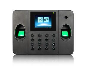 Tempo de Impressão Digital Biométrico múltiplas presenças com Duplo sistema de scanner de impressões digitais