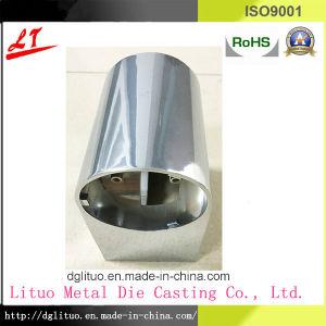 La fundición de aluminio en el hogar y vivienda de cuerpo de la lámpara Sqube