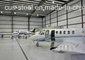 EUの市場のためのプレハブの航空機の格納庫か鋼鉄Strcutureの航空機の格納庫