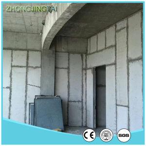 La construcción de una estructura de hormigón Zjt sándwich EPS el panel de pared seca de materiales usa