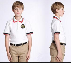 Fábrica da China fez uma boa qualidade Trajes de uniforme escolar mais baratos