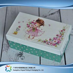 마분지 뚜껑 & 바닥 패킹 의복 옷 구두 상자 (xc APS 009)
