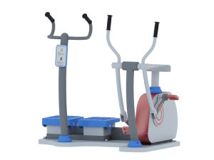 2017 Nuevo gimnasio al aire libre de vibraciones Equipment-Recumbent formador
