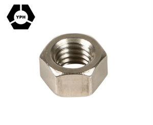 Les écrous en acier inoxydable hexagonal métrique DIN934 DIN439 DIN936