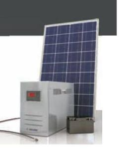 100W 태양 에너지 체계
