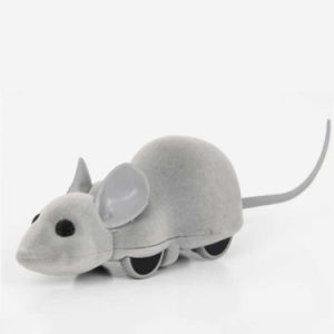 무선 쉬운 통제 전자 대화식 마우스 고양이 애완 동물 장난감