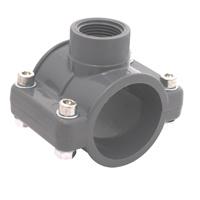 Le collier du tuyau en plastique de la norme DIN PN10