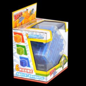 Giocattolo stampato colore personalizzato che imballa la casella ondulata piegante calda di imballaggio di vendita con la finestra
