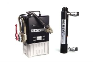 cilindri idraulici agenti del doppio 520t