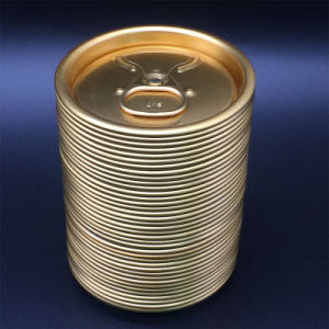 202# Rpt fin en aluminium contenant des aliments prix d'usine fin d'ouverture facile