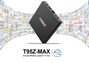 Androider Fernsehapparat-Kasten T95z maximaler Amlogic S912 2GB RAM/16GB ROM-Satellitenempfänger intelligenter Fernsehapparat-Kasten mit Digitalanzeige, WiFi2.4GHz+5.8GHz