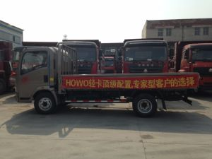 5-8 van LHV van de Vrachtwagen van de Lichte/Vlakke/Lichte ton Lading van de Plicht/Middelgrote/Flatbed Vrachtwagen