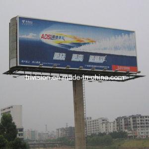 Outdoor Billboard Trivision rotatif de grande taille