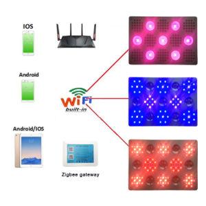 WiFi de alta potencia de 1500W LED regulable luz crecer