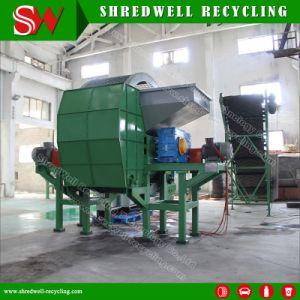 Двойной вал Бумагорезательная машина для резки отходов погрузчика/пассажирских/шины легкового автомобиля