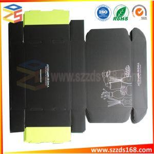 Chiffon de papier à plat en carton ondulé cosmétique Boîte d'emballage du papier