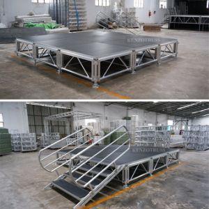 Pequeña piscina de aluminio de rendimiento de la etapa de títeres para la venta