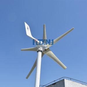A consciência é recomendado! 600W 24V com 5 lâminas da turbina eólica