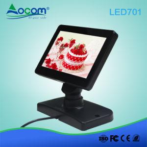 7 LED  Moniteur Écran client POS USB