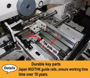 Mitsubishi ha automatizzato la macchina per cucire dei pattini del fratello del reticolo di cuoio industriale delle borse