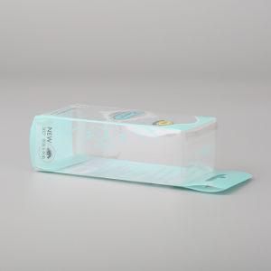 Scatola di plastica di plastica dell'animale domestico trasparente dello strumento di trucco del ciglio