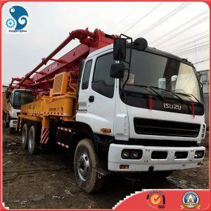 中国の具体的な機械装置はステアリング具体的な配達のための6X4によって使用されたセメントポンプトラックを去った
