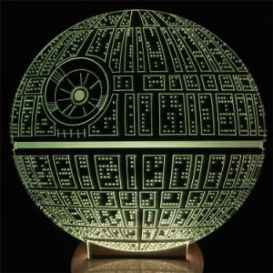 На заводе оптовой интересные смерти Star 3D-LED ночь интерьер лампы