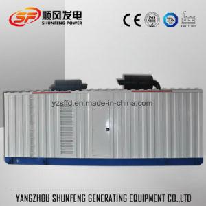 防音3mva Mtuの無声電力のディーゼル発電機