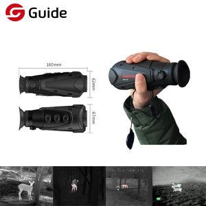 Dispositivo WiFi de imagen térmica de infrarrojos de la cámara de visión nocturna Monocular para la caza con 19mm de enfoque, el CDV 19.0° × 14,5°