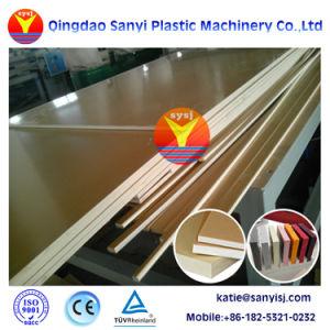プラスチックWPCの床板PVC泡のボードPVC泡シートの放出ライン生産ライン