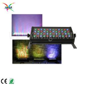 段階外側のための軽い144W 48PCS 3W RGB IP65 Ledarchitecturalの建物の洪水ライトランプ
