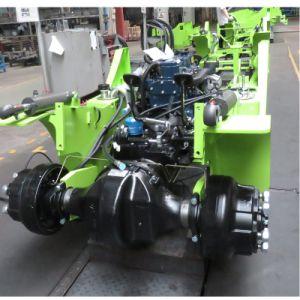 Diesel van de capaciteit 6000kg Vorkheftruck met het Broodje van het Document van de Gehechtheid