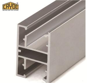 6063 T5 de construcción perfil de aluminio para vidrio Shopfront Canopy tragaluz