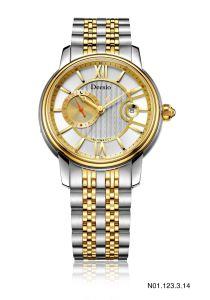 Il disegno di vendita caldo 5ATM automatico dell'OEM addolcisce l'orologio casuale delle vigilanze degli uomini