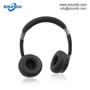 耳のFoldableハンズフリーのヘッドセットのヘッドホーン上のBluetoothの無線ステレオのイヤホーン