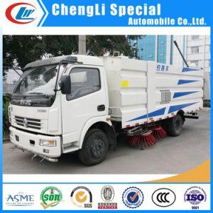 Limpiar limpieza de pavimento de la calle de camiones de supresión de polvo